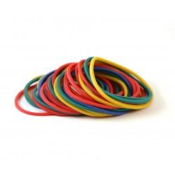 Gummiband - Farvet -100st
